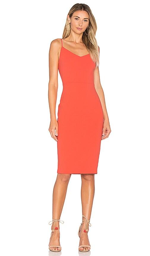 1. STATE Slip Dress in Red