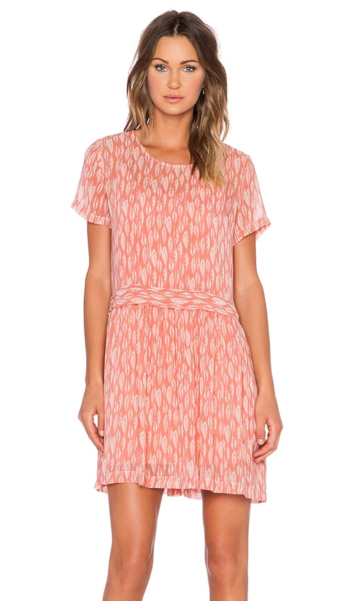 1. STATE Drop Waist Shift Dress in Coral Clay