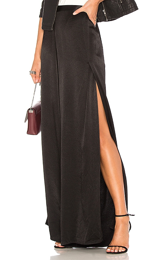 1. STATE Wide Leg Pant in Black