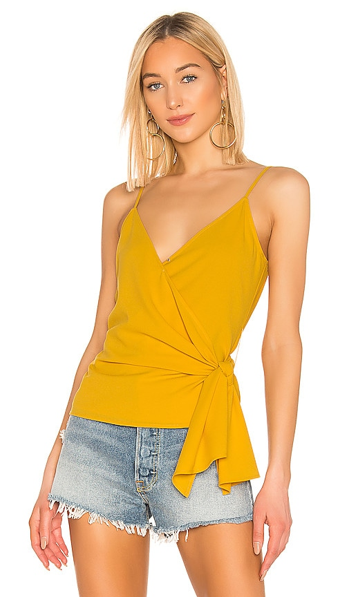 Wrap Front Knot Detail Top