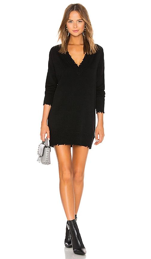 7dfbfdddb78 27 miles malibu Clarina Oversized Sweater Dress in Black