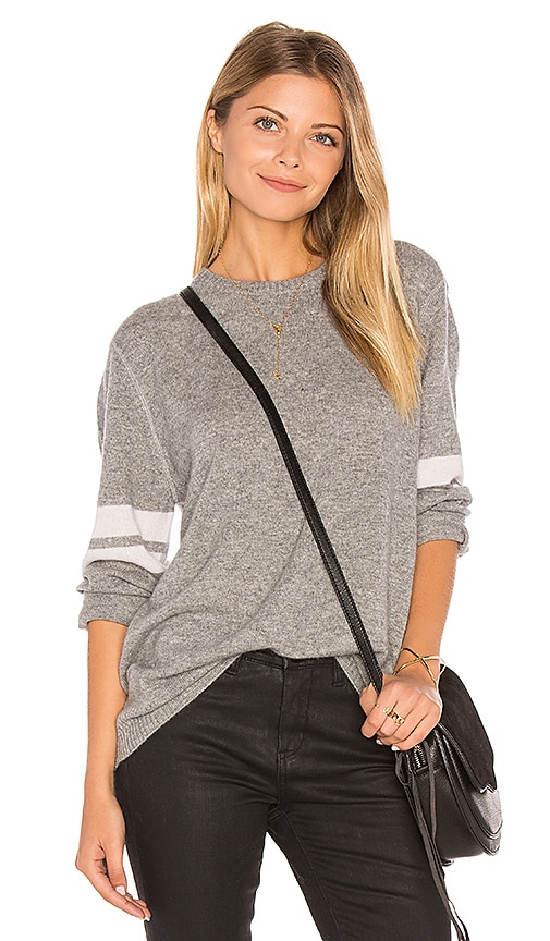 27 miles malibu Adrina Oversized Sweater in Light Gray