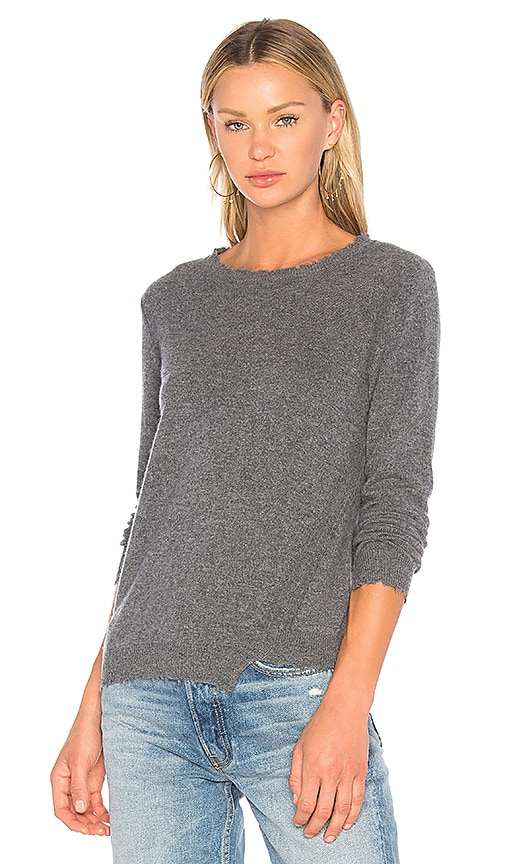 27 miles malibu Maise Long Sleeve Sweater in Gray