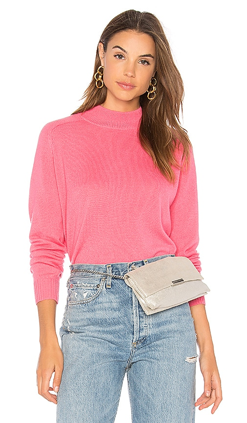 27 miles malibu Glenna Long Sleeve Sweater in Pink