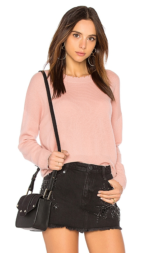 27 miles malibu Rosalind Sweater in Pink