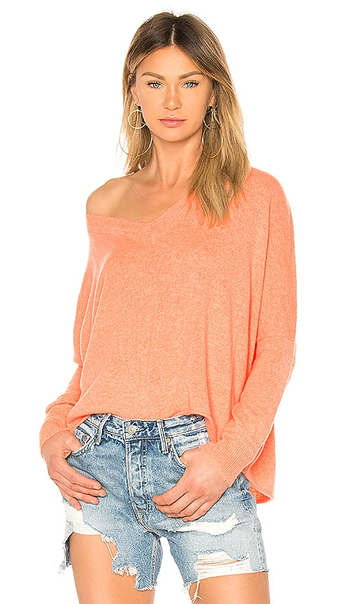 27 miles malibu Sedona Sweater in Orange