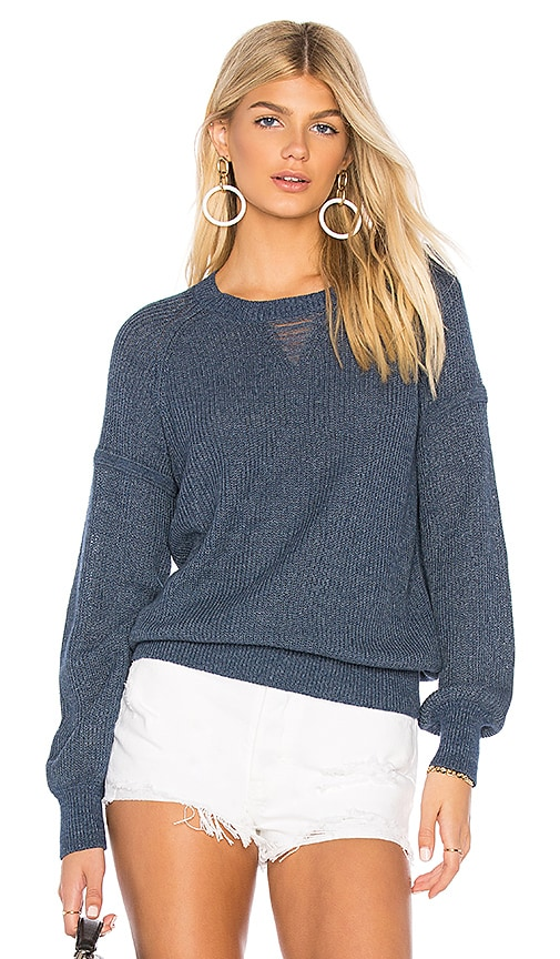 27 miles malibu Allyce Sweater in Blue