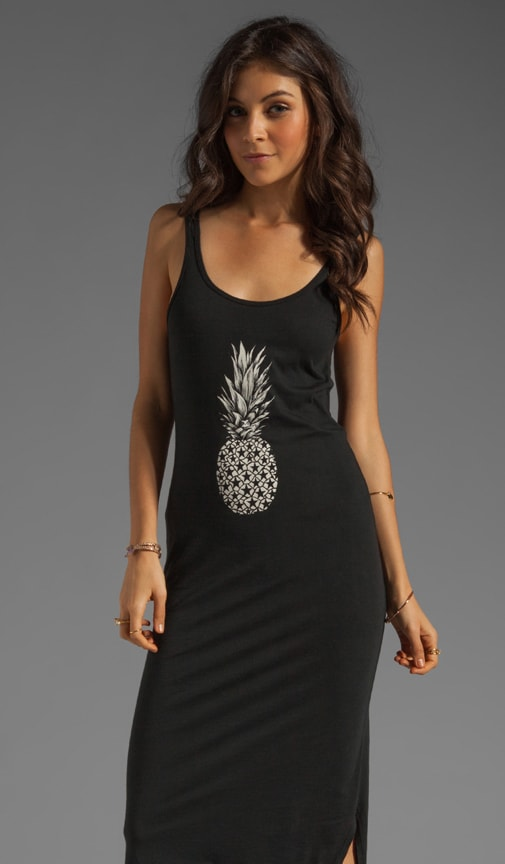 Pineapple Scoop Back Dress