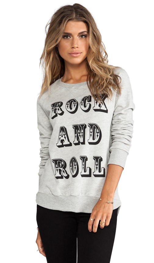 Rock and Roll Pullover Sweatshirt