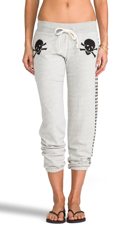 Skull Flag Baggy Sweatpant
