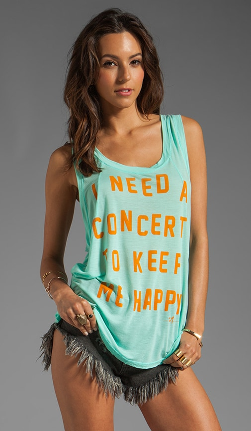 Concert Seamed Tank