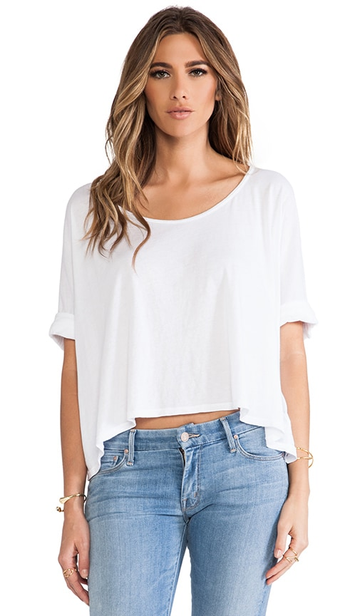 Boxy Cropped Tee