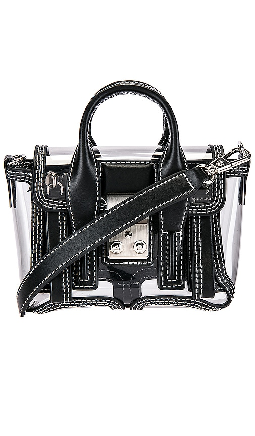 Transparent Pashli Nano Satchel