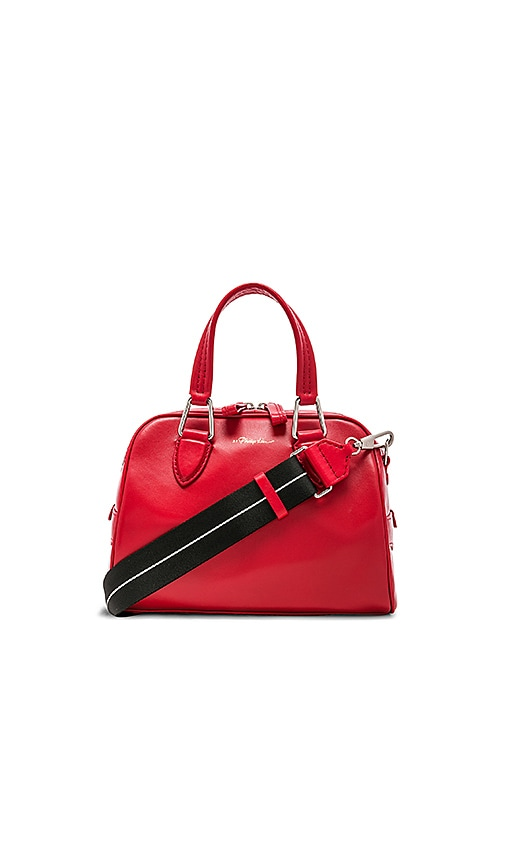 3.1 phillip lim Ray Small Flight Bag in Red