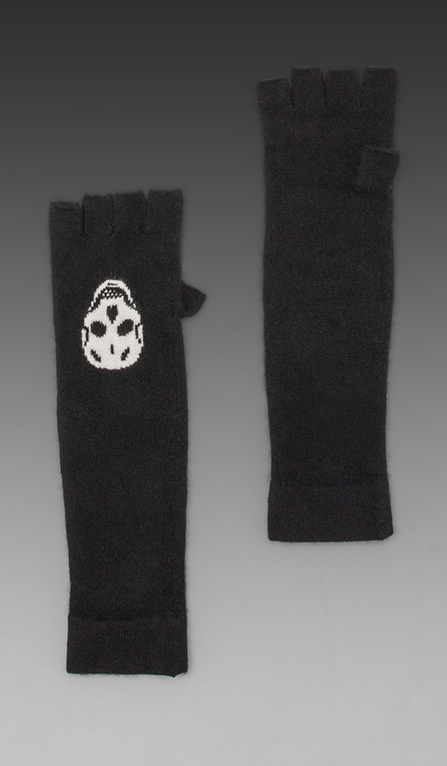 Luther Skull Cashmere Glove