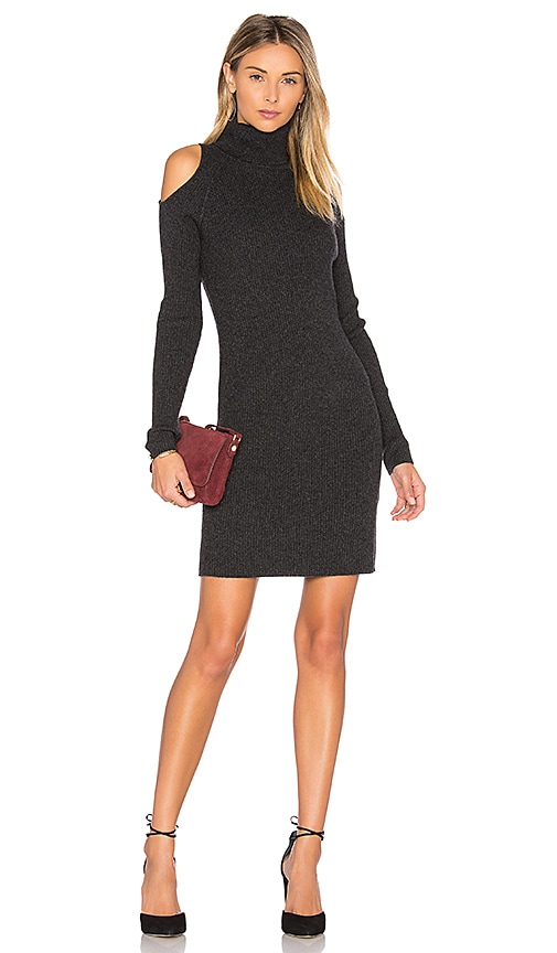 Ivana Cold Shoulder Sweater Dress