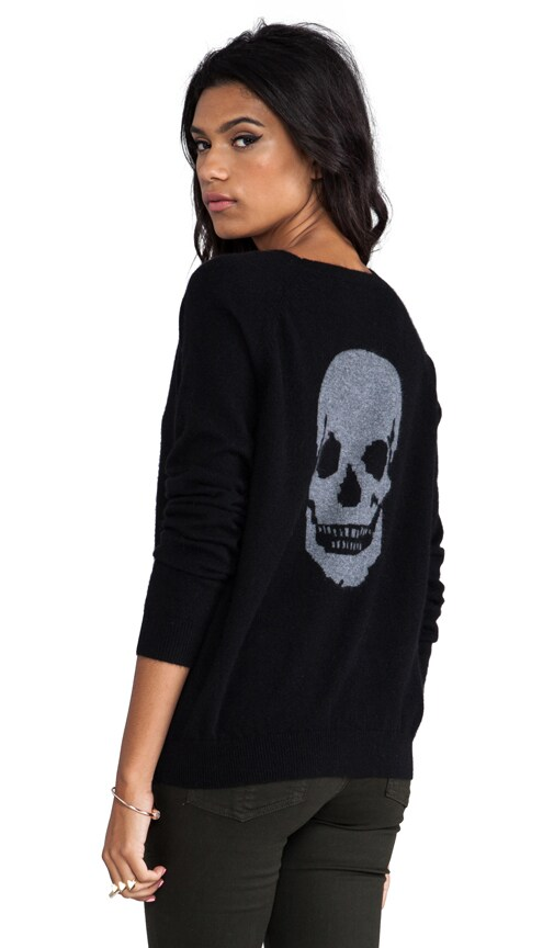 Luther Skull Cashmere Pullover