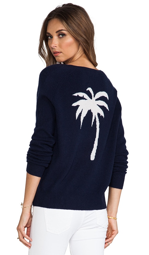 Palm Cashmere Sweater