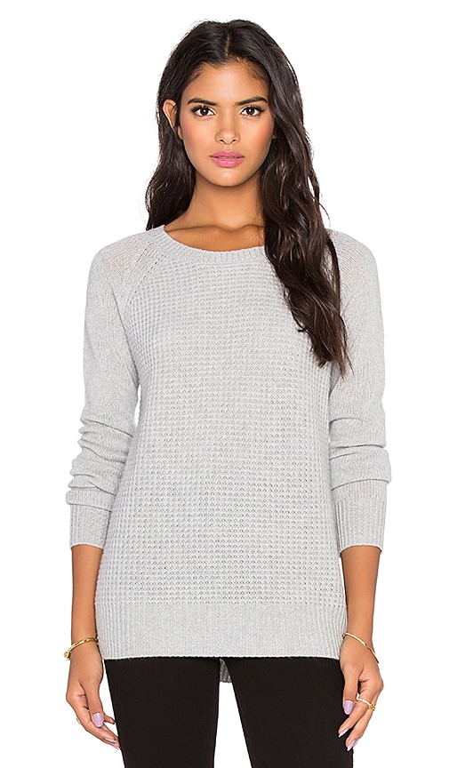 360 Sweater Orchard Crew Neck Sweater in Gray