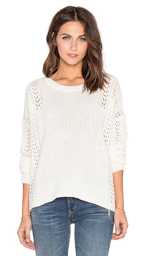 360 Sweater Lauria Sweater in Ivory