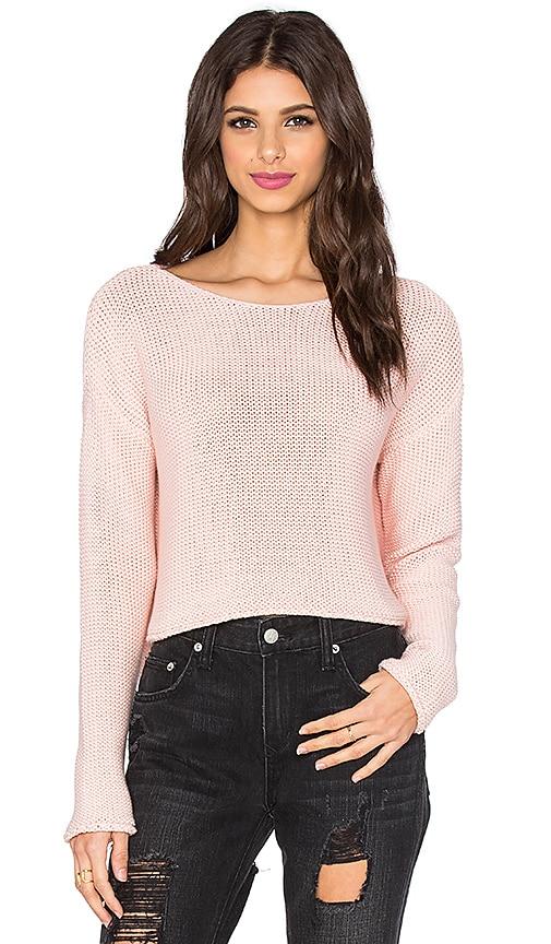 360 Sweater Fiji Sweater in Pink