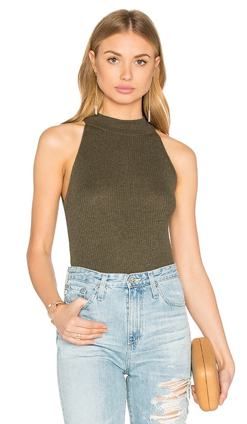 Hera Sleeveless Turtleneck Sweater