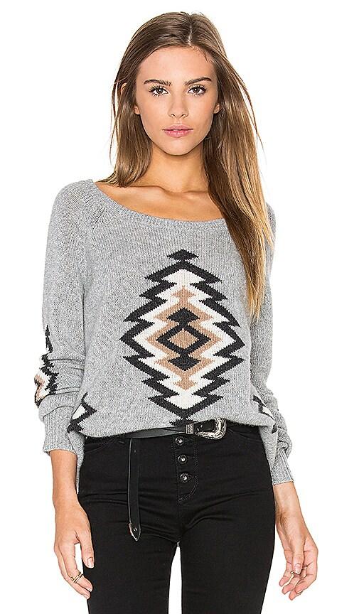 360 Sweater x Rocky Barnes Skyler in Heather Grey Combo