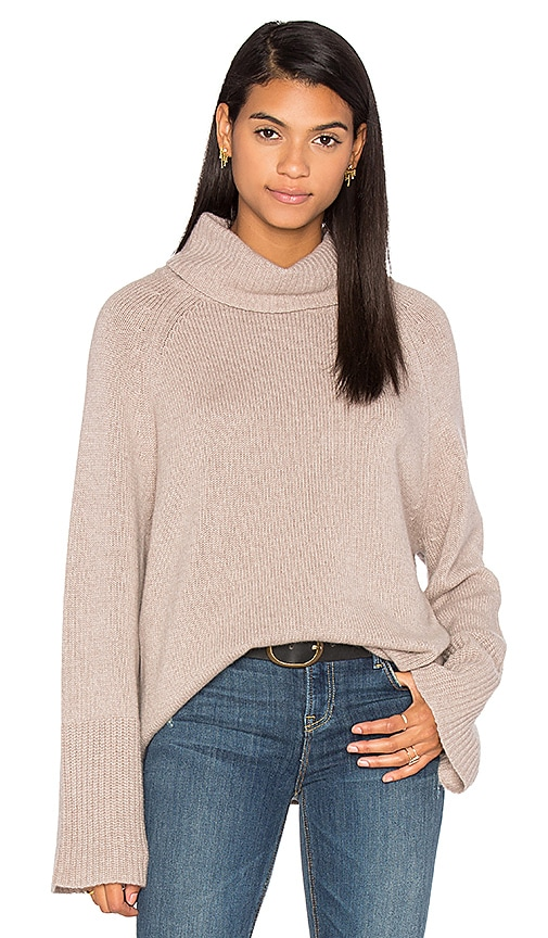 360 Sweater Xristian Cashmere Sweater in Gray