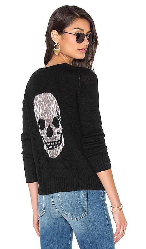 Raj Cashmere Skull Sweater