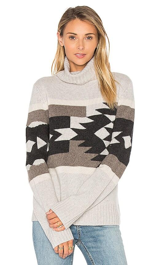 360 Sweater Willa Tribal Sweater in Gray