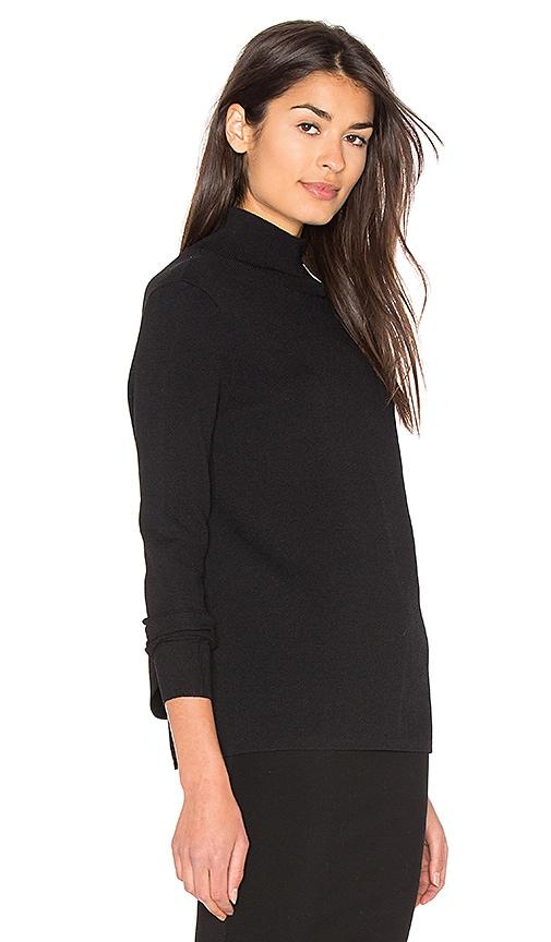237c960758 360 Sweater Milana Open Back Sweater in Black delicate - mfpc.ie