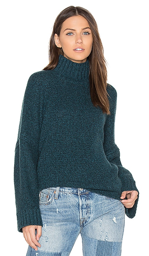 360 Sweater Chandler Sweater in Teal
