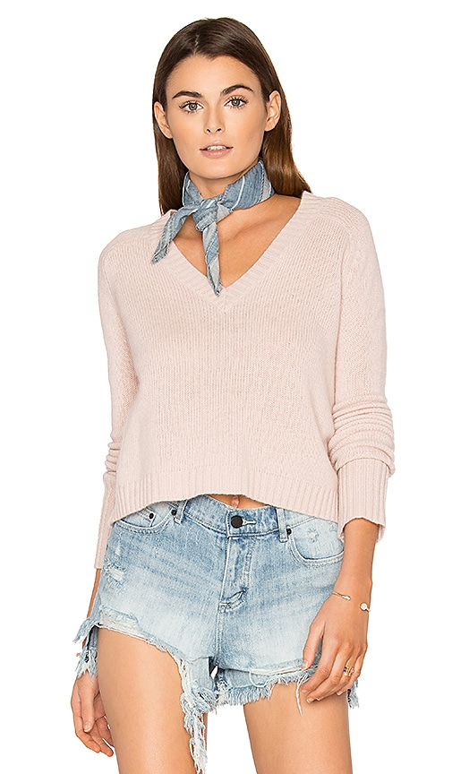 360 Sweater Manon Cashmere Sweater in Pink