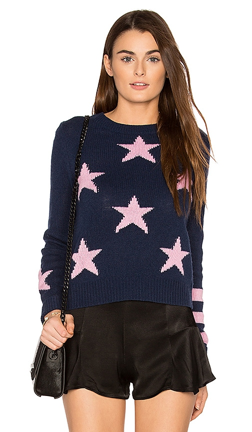 360 Sweater Embrey Cashmere Sweater in Navy