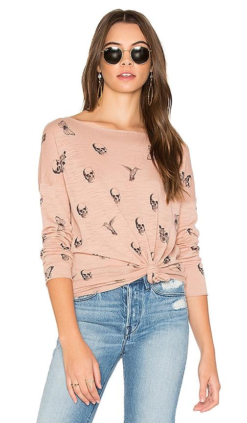 360 Sweater Dru Sweater in Pink