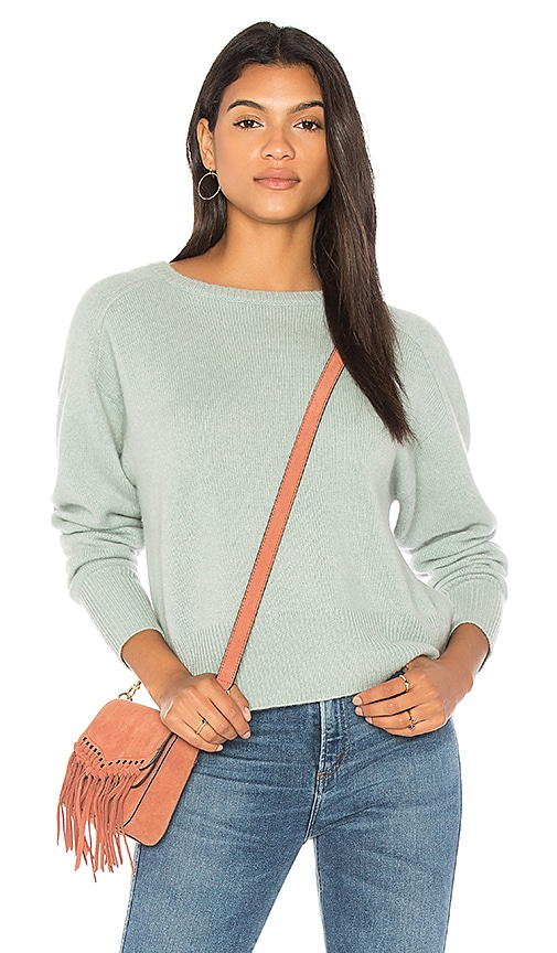360CASHMERE Rey Sweater in Teal