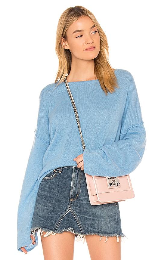 360CASHMERE Della Sweater in Blue