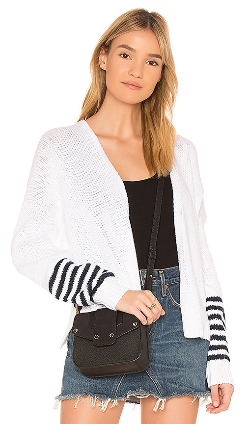 360CASHMERE Open Cardigan in White