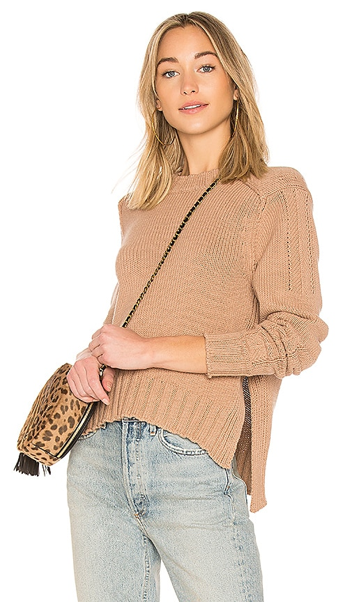 360CASHMERE Kendra Sweater in Tan