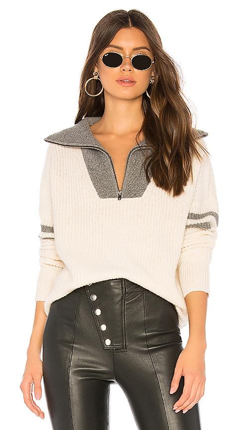 Nichola Half Zip Sweater