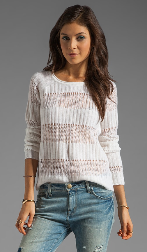 Rooney Stripe Cashmere Sweater