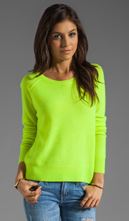 Charlie Nautical Neon Cashmere Sweater