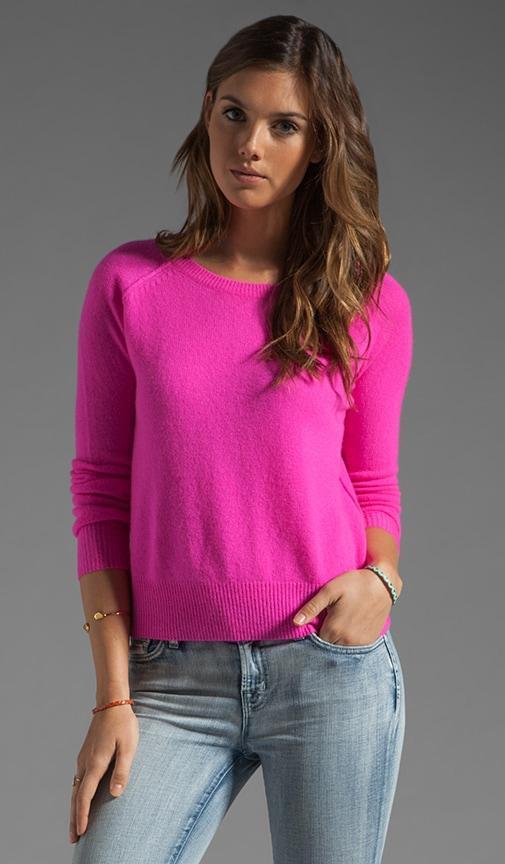 Charlie Nautical Neon Cashmere Sweater