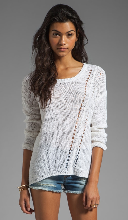 Pasha Linen Tape Sweater