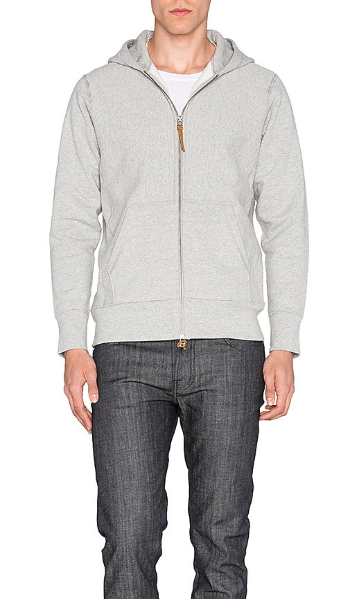 3sixteen Heavyweight Hoody in Gray