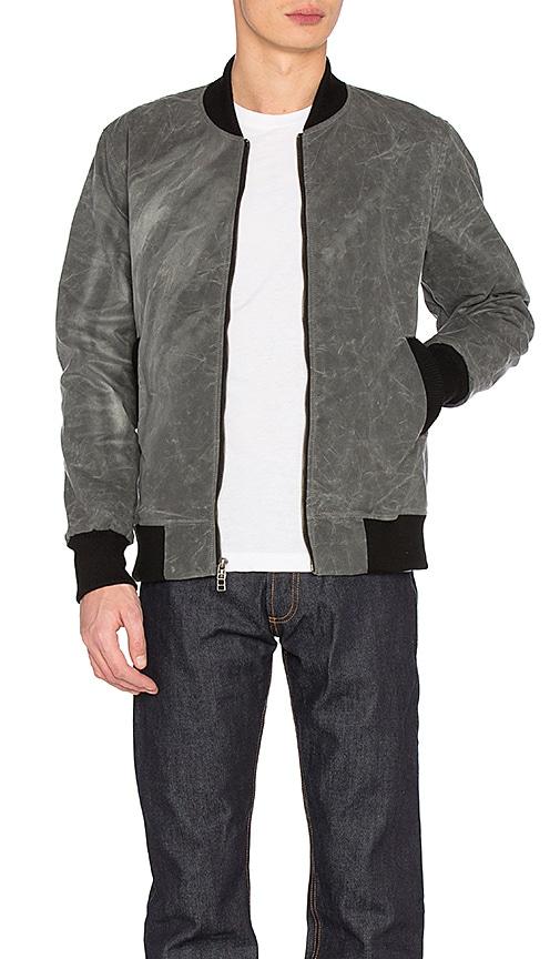 3sixteen Stadium Jacket in Gray