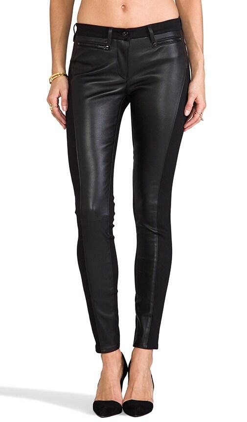 W2 Leather Skinny