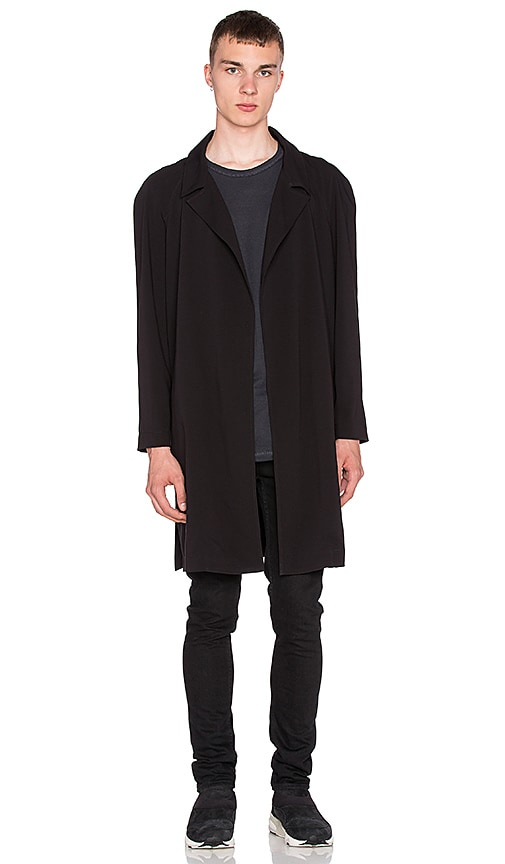 424 Gab Trench in Black
