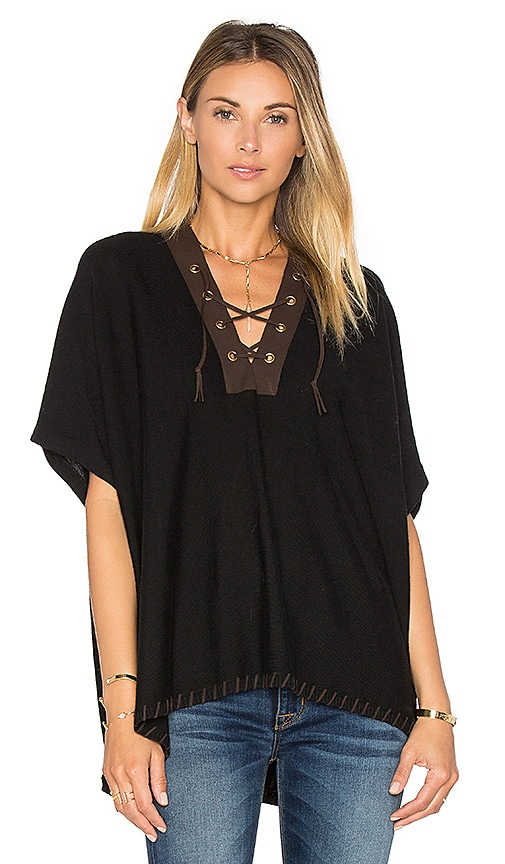 Lace Front Poncho