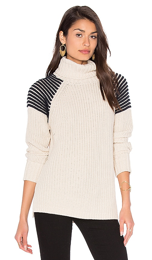 525 america Turtleneck Sweater in Cream